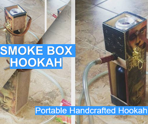 smoke box portable hookah
