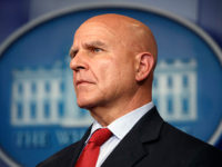 National security adviser H.R. McMaster listens during the daily press briefing at the White House, Monday, July 31, 2017, in Washington. (AP Photo/Evan Vucci)
