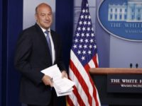 White House chief economic adviser Gary Cohn arrives to speak during the daily press briefing, Thursday, Sept. 28, 2017, in Washington. (AP Photo/Evan Vucci)
