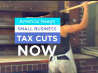 Small Business Tax Cuts Ad