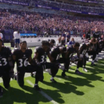 Standing Room Only: Ravens Fans Boo Players Who Kneel Before the Anthem, Stand During It