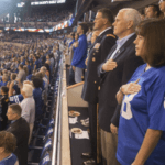UPDATE: VP Pence After Leaving Colts Game on Sunday: 'I Will Not Dignify Any Event That Disrespects Our Soldiers, Our Flag'