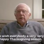 Bernie Sanders Mixes Thanksgiving and Politics With Holiday Message Attacking GOP