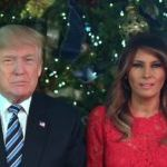 Watch: Donald, Melania Trump Celebrate the 'Miracle of Christmas' in Message to Americans