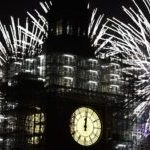 Britain Rings In 2018 Amidst Heightened Security
