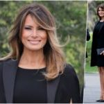 Fashion Notes: Melania Trump Pays Homage to Parisian Luxury in Givenchy for French President's Visit