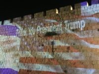 Thank You President Trump Jerusalem (Joel Pollak / Breitbart News)